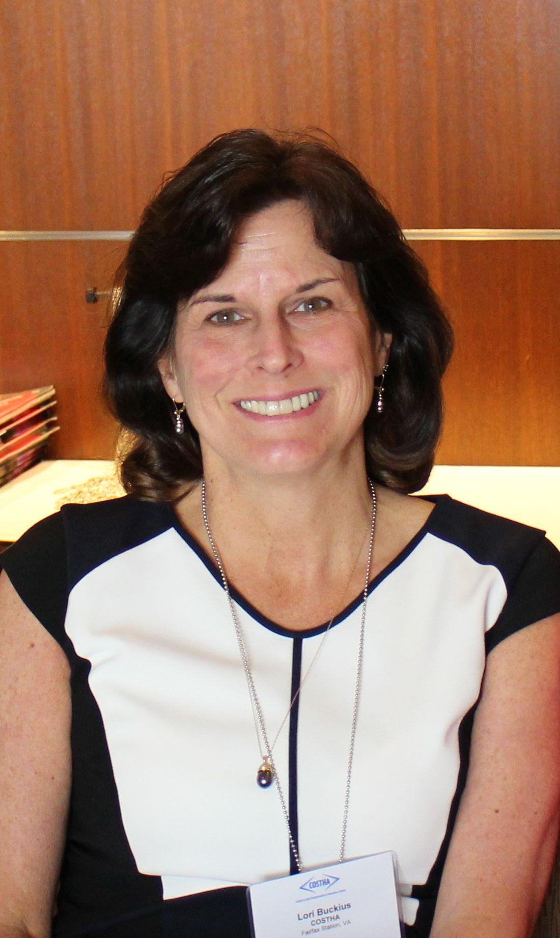 COSTHA Marketing Director Lori Buckius